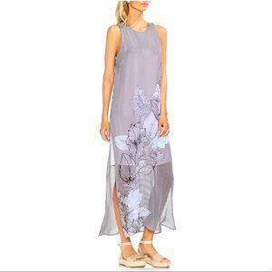 Vince Camuto, Island Floral Chiffon Maxi Dress